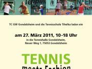 Tennis meets Fashion